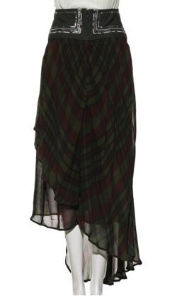 FURFUR(ファーファー)ベルト刺繍スカート