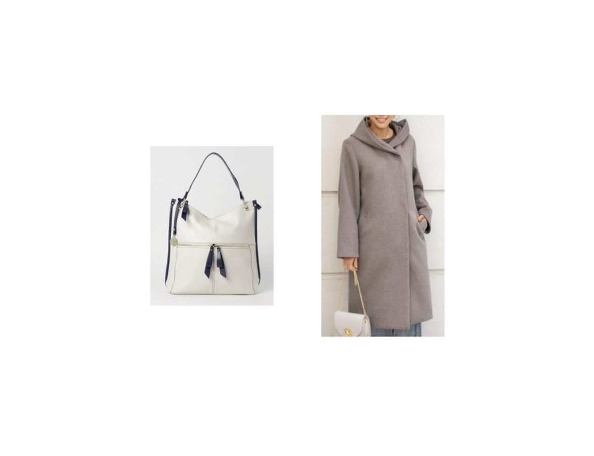 【第2話・ゲスト】2020/01/15放送で市川由衣さんが着用しているコート・バッグのブランド