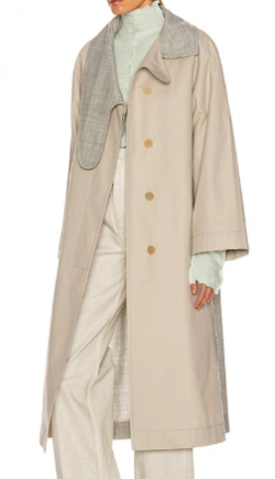 LOEWE(ロエベ)Long Asym Collar Coat