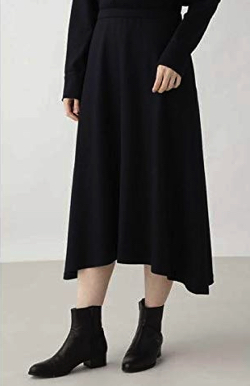 HUMAN WOMAN(ヒューマンウーマン)スムースミルドスカート