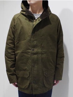 ORGUEIL Waxed Duck Filed Parka
