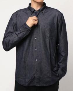 BLACK LABEL CRESTBRIDGE ハイゲージジャージーボタンダウンシャツ