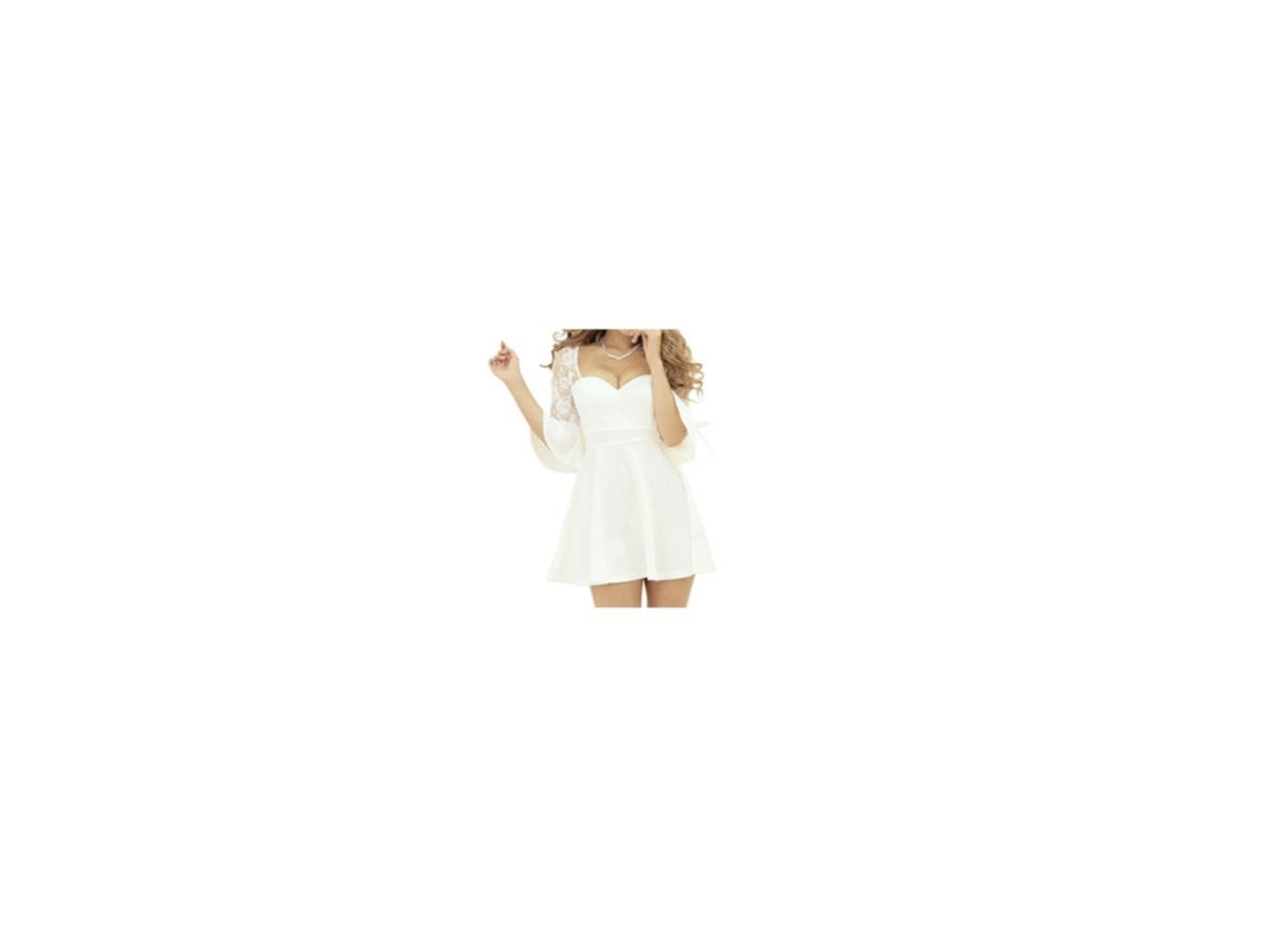 【第1話】2020/01/06(月曜日)【ビューティープライド~美しきメイクの戦い~】《ゆきぽよ》さん着用白いセクシーなワンピース