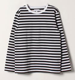 agnes b J008 TS ボーダーTシャツ