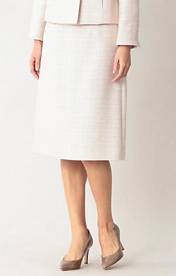 Paul Stuart WOMEN エアリーツイードスカート