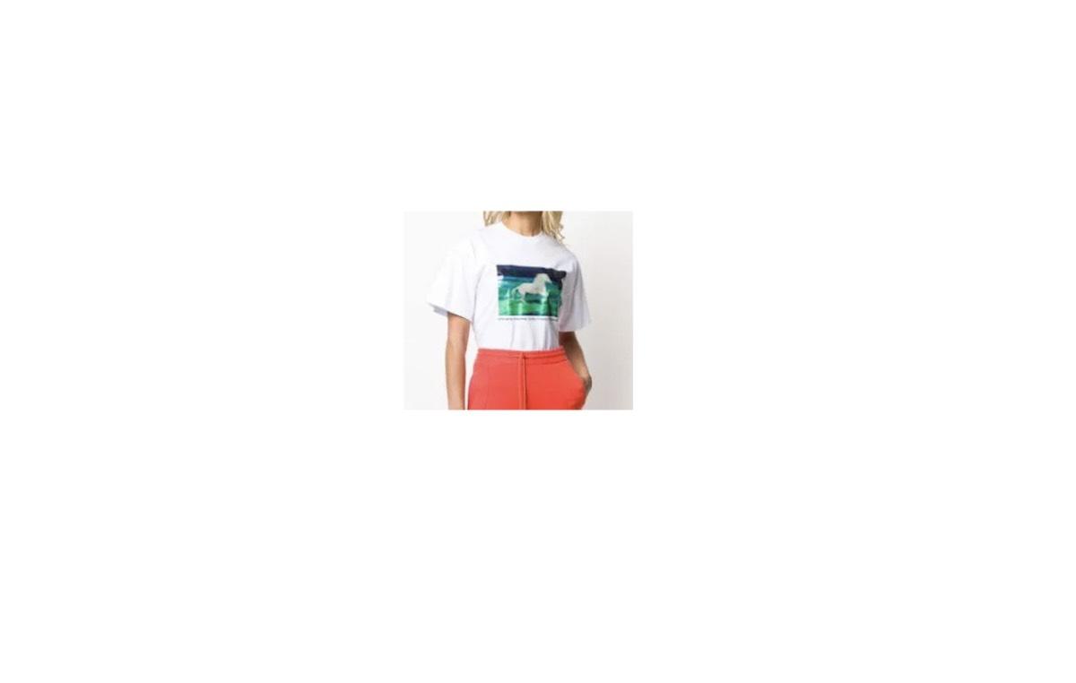 2020/2/29(土)放送のゲスト、永野芽郁 さん着用のかわいい馬柄半袖Tシャツのブランド【嵐にしやがれ】(2020/2/29(土))《永野芽郁 》着用かわいい馬柄プリントTシャツ