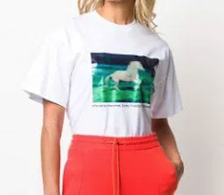 MSGM (エムエスジーエム)ホースプリント Tシャツ