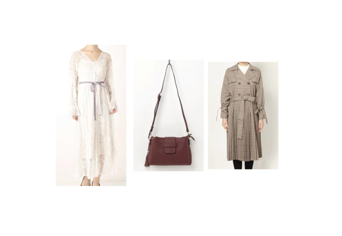 【第6話・ゲスト】2020/2/12放送で佐津川愛美(さつかわ あいみ)さんが着用しているコート・バッグ・ワンピースのブランド