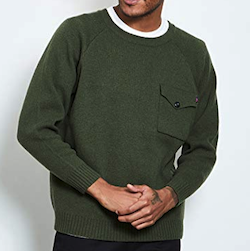 ROTAR Pocket army knit ポケット アーミー ニット