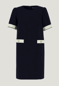 MARELLA Dress with trim accents
