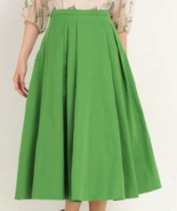 STRAWBERRY-FIELDS メモリーグログラン スカート