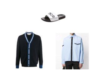 【FNS春の祭典2020】2020/3/28《田中圭》さん着用カーディガン・シャツ・サンダル(私服・私物)の ブランド