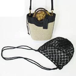 POTIOR(ポティオール)SUNNY DAY 3wayコットンメッシュハンドバッグ
