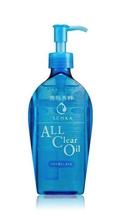 資生堂 洗顔専科 オールクリアオイル