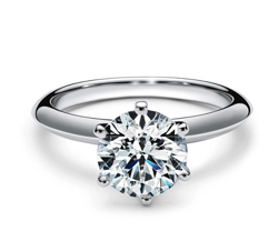 Tiffany&Co. ティファニー セッティング エンゲージメント リング プラチナ