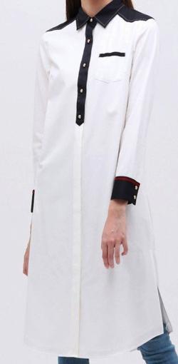 LOVELESS クレリック ロングシャツドレス