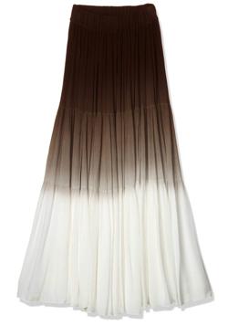 DOUBLE STANDARD CLOTHING DSC 楊柳グラデーションスカート