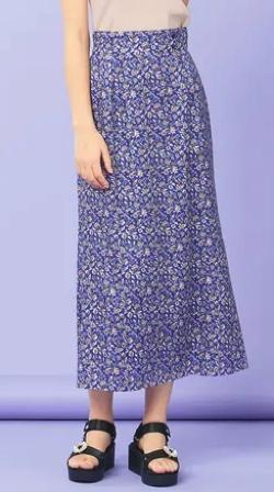 TOCCA Ipeker Print スカート
