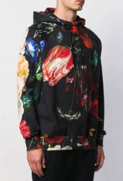 PAUL SMITH (ポール・スミス) floral print hoodie