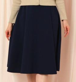 couture brooch ベルテッドフレアミモレスカート