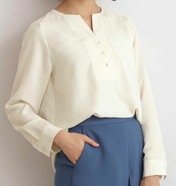 N. Natural Beauty Basic* ガルーダツイルシャツ