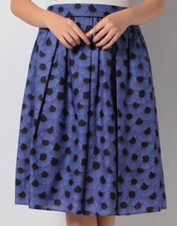 OLD ENGLAND パルメットフレンチプリントスカート