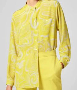 ESCADA Silk Printed Blouse