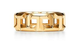 Tiffany&Co. ティファニー T True 8MM リング 18K ゴールド