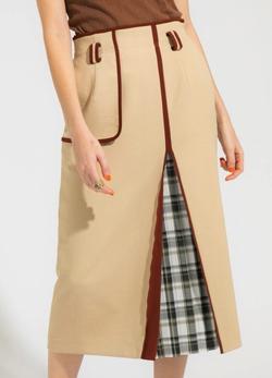 PUBLIC TOKYO ハイウエストタイトスカート