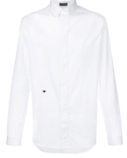 DIOR HOMME insect embroidery shirt
