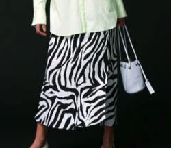 MAISON SPECIAL サテンスカート