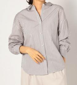 NOLLEY'S パール釦2wayシャツ