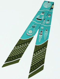 HERMES ツイリー スカーフ Les Flacons Bandana