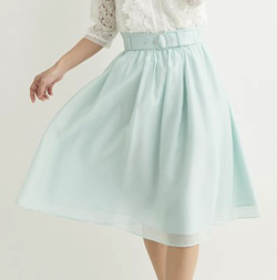 Debut de Fiore エアリーカラーふんわりスカート