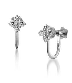 STAR JEWELRY BRIGHTEST STAR DIAMOND EARRINGS