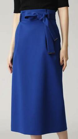 Ele NATURAL BEAUTY ジャージーセットアップストレートスカート