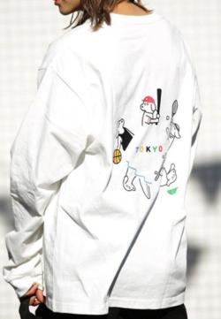 松本セイジ×FREAK'S STORE 別注TOKYO SPORTS DOG ロングスリーブTシャツ
