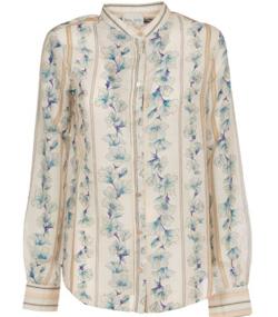 フォルテフォルテ シャツ ジャケット レディース【Forte_Forte guadalupe Shirt】white