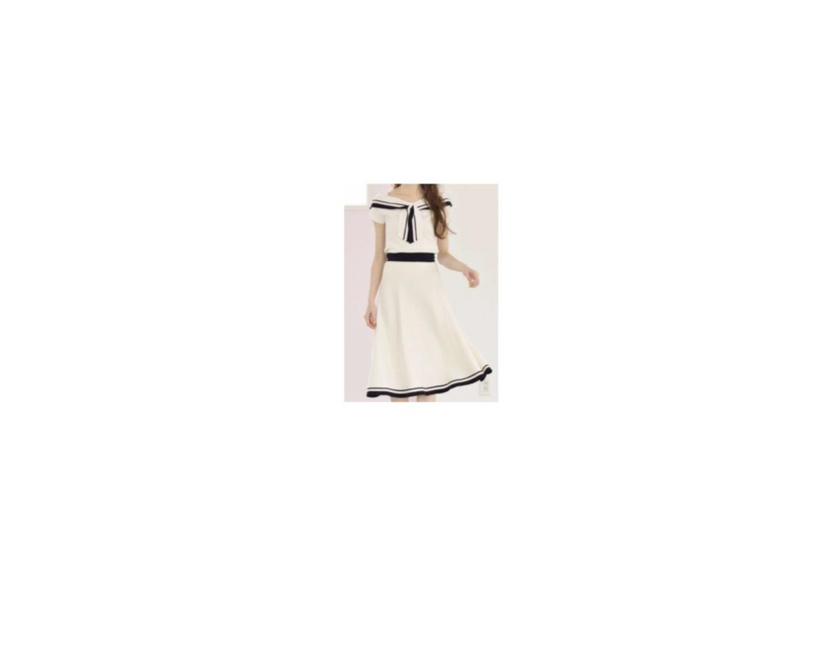 【THE 突破ファイル】《王林》さん着用ワンピースのブランドはこちら♪王林さんが【THE 突破ファイル】の中で着用している服(服装)・衣装(洋服・ファッション・ブランド・バッグ・アクセサリー等)やコーデ
