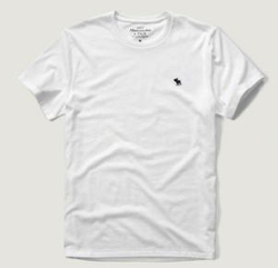 Abercrombie & Fitch クルーネック Tシャツ
