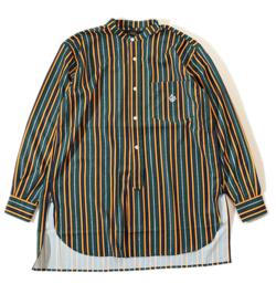 ALDIES スタンドストライプシャツ