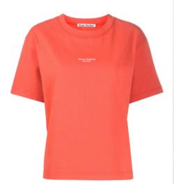 ACNE STUDIOS ロゴTシャツ