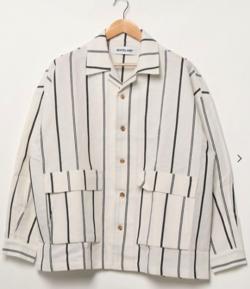 WHITELAND  リネンシャツ