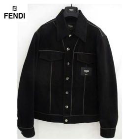 FENDI ボクシー デニムジャケット