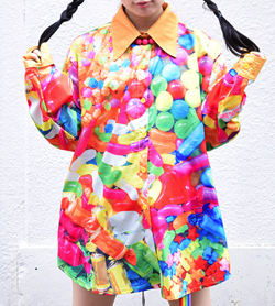 ACDCRAG POPキャンディBIGシャツ