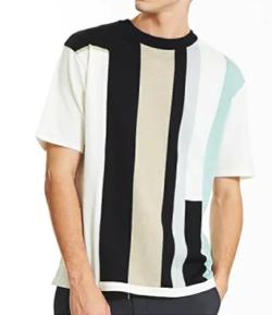 ABAHOUSE インターシャニットTシャツ