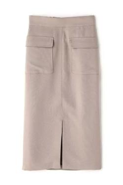 N. Natural Beauty Basic* フロントポケットタイトスカート