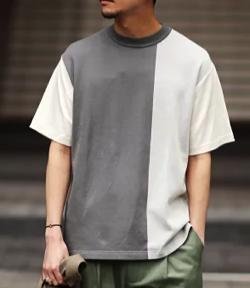 EDIFICE 【WKED】パネルドッキング Tシャツ