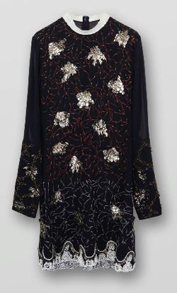 Chloé エンブロイダリーイブニングドレス