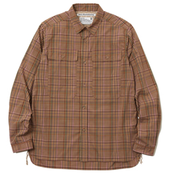 White Mountaineering MULTI CHECK TRIPLE STITCHED W POCKET SHIRT